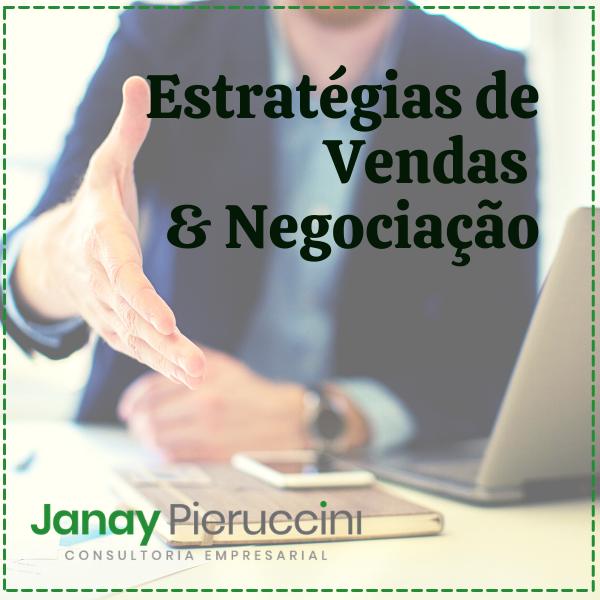 Estratégias de Vendas & Negociação